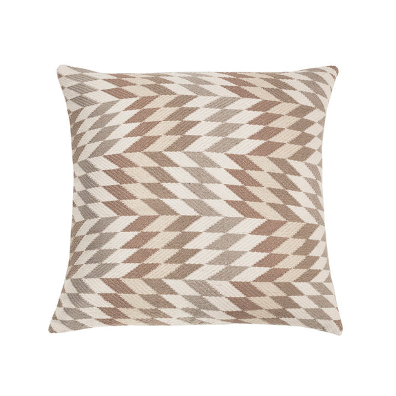Made To Order: Almolonga Diamond Pillow- Tan