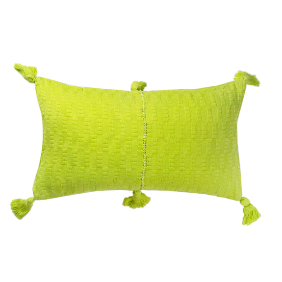 Pre-order: Antigua Pillow - Lemon Lime Solid