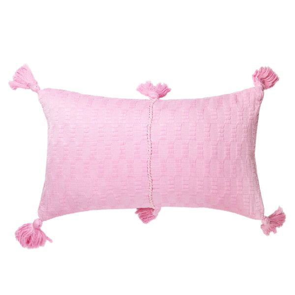 Antigua Pillow - Baby Pink Solid