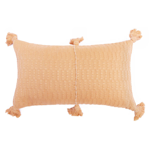 Antigua Pillow - Blush Solid