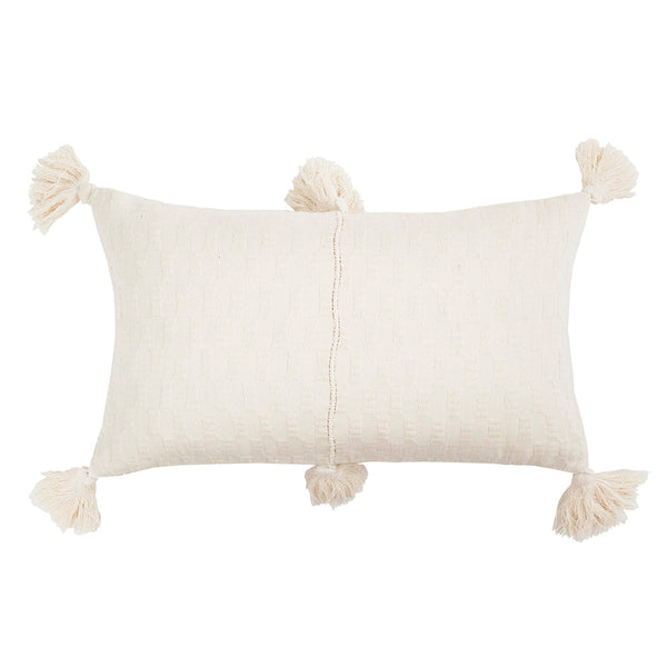 Antigua Pillow - Natural White