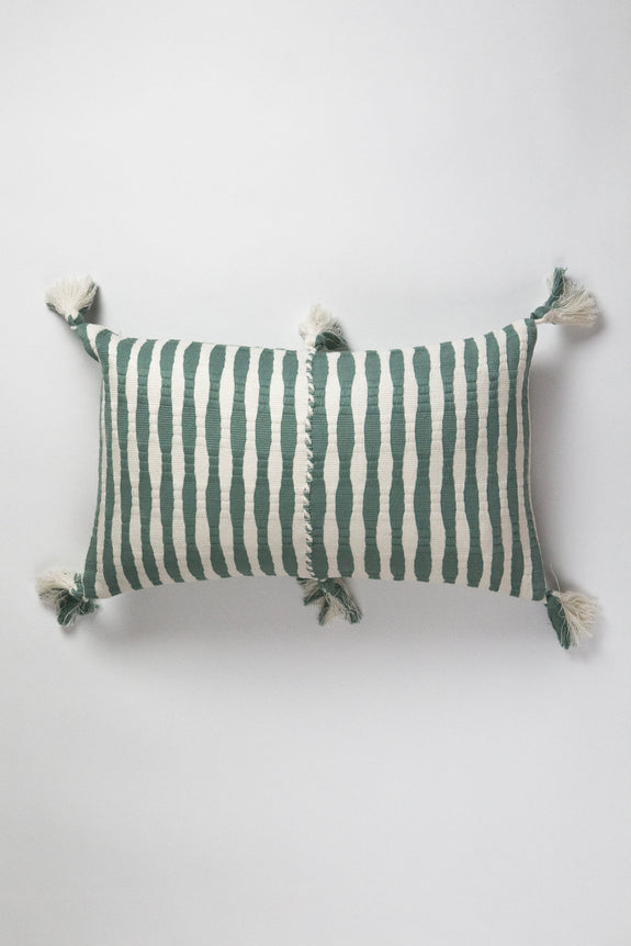 Antigua Pillow - Dusty Green
