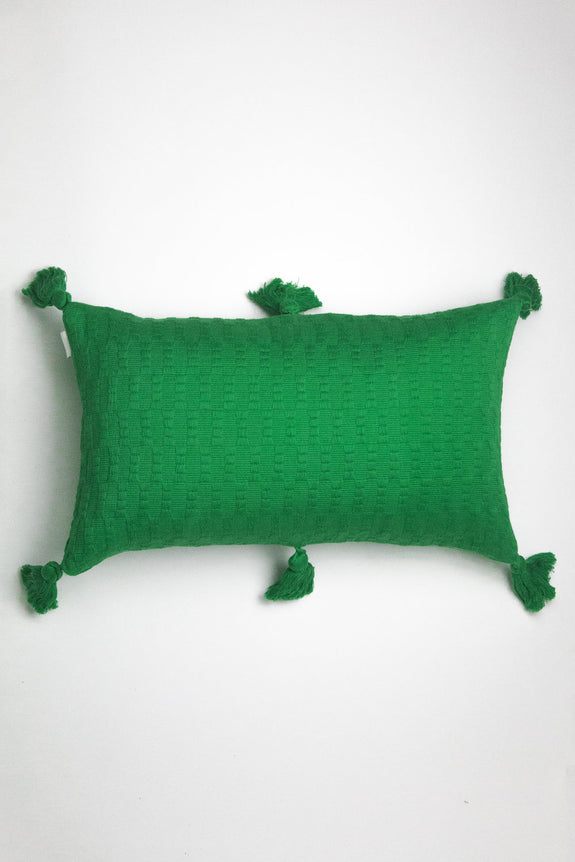 Antigua Pillow - Grass Green Solid