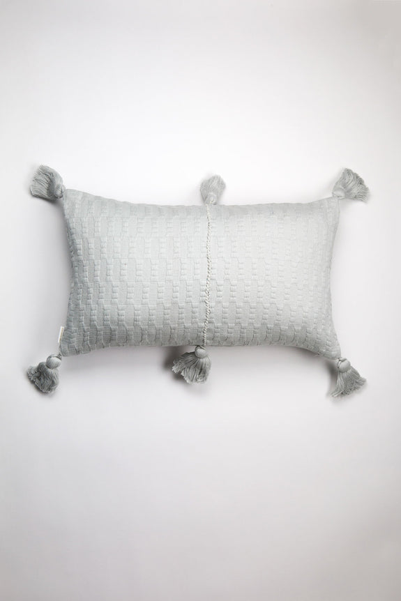 Antigua Pillow - Grey Solid
