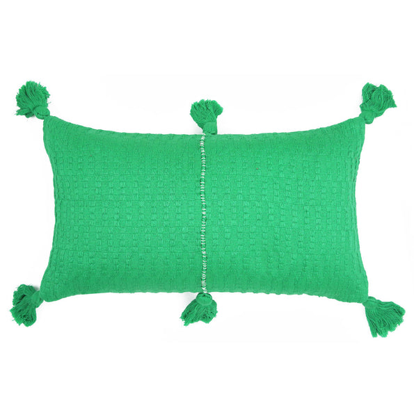 Antigua Pillow - Kelly Green Solid
