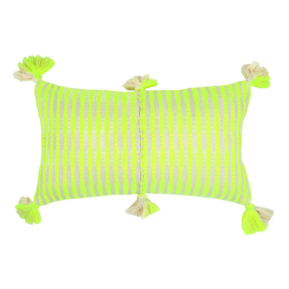 Made to Order: Antigua Pillow - Neon Yellow