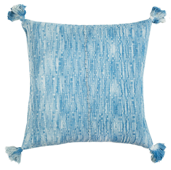 "Made to Order: Antigua Pillow - Ocean Tie Dye 20""x20"""