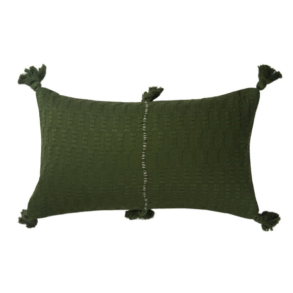 Antigua Pillow - Olive Solid