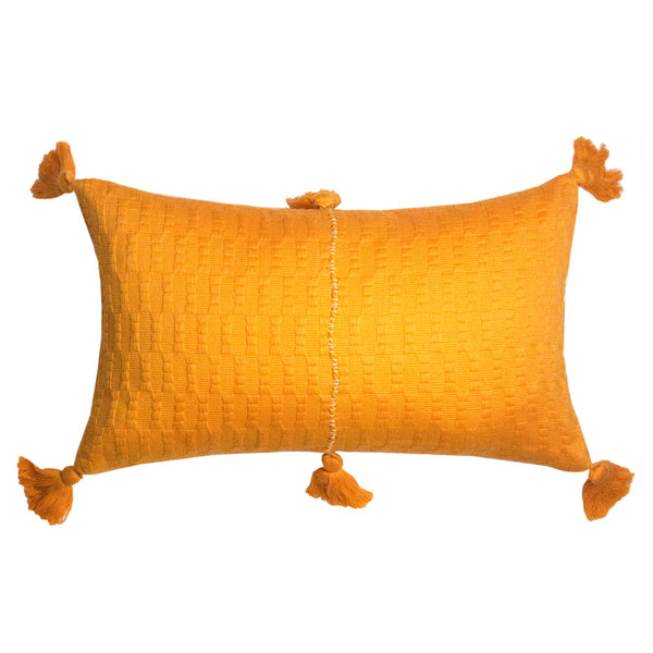Backordered: Antigua Pillow - Orange Solid