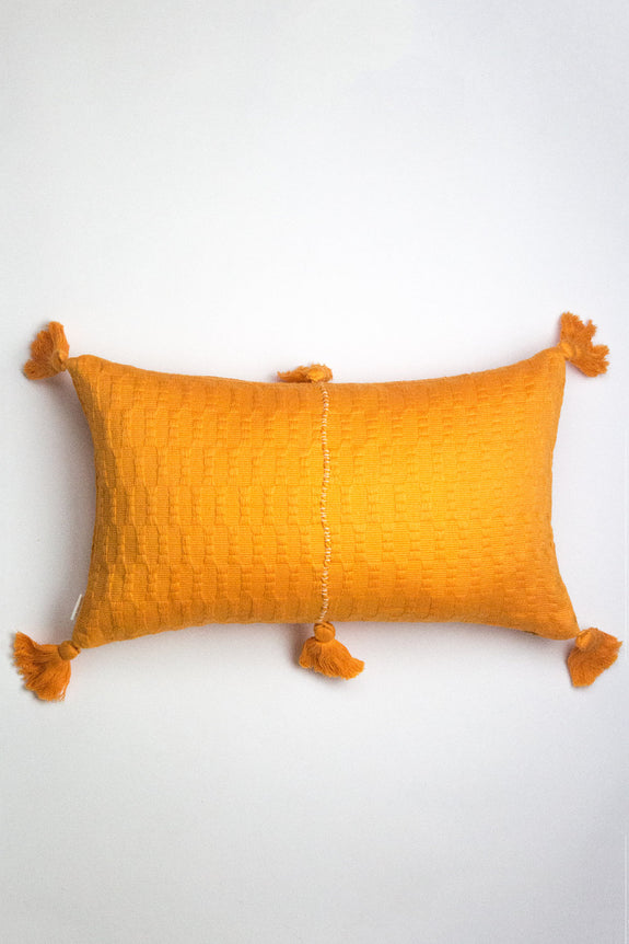 Antigua Pillow - Orange Solid