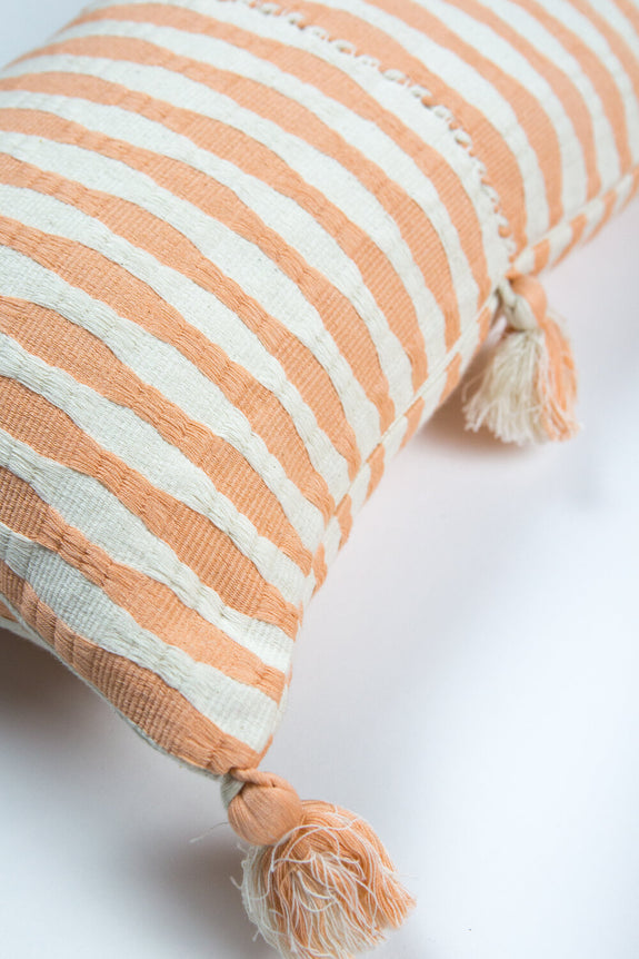 Antigua Pillow - Peach