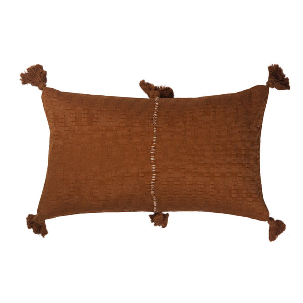 Antigua Pillow - Umber Solid