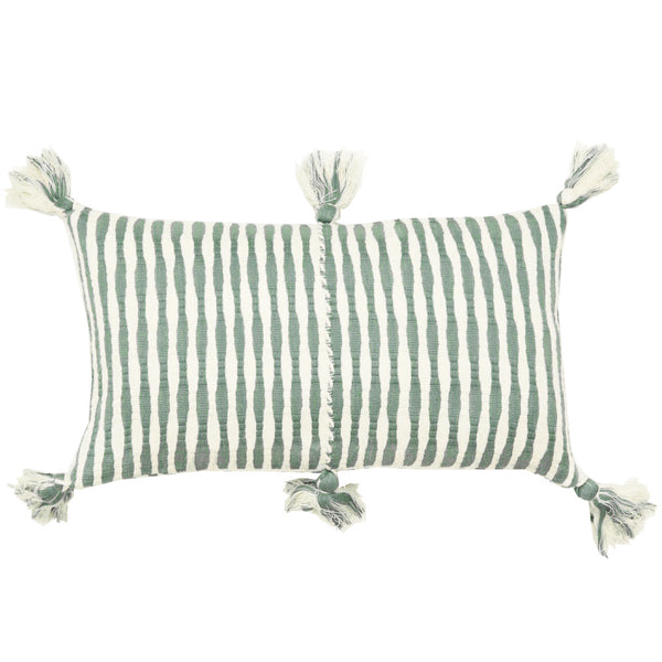 Backordered: Antigua Pillow - Dusty Green