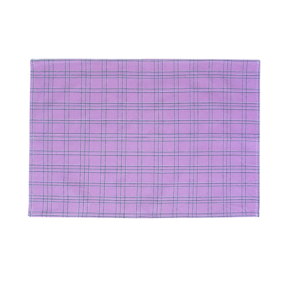 Chiapas Plaid Lilac Placemat