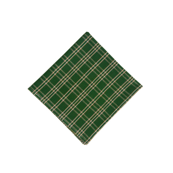 Backordered: Chiapas Plaid Forest Napkin
