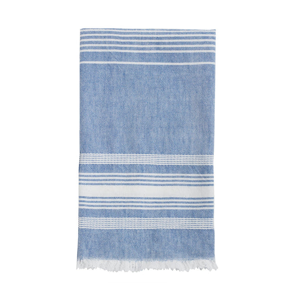 Blue Chambray Kitchen Towel