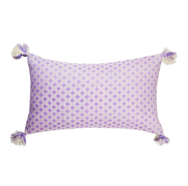 Comalapa Rectangle Pillow - Lilac