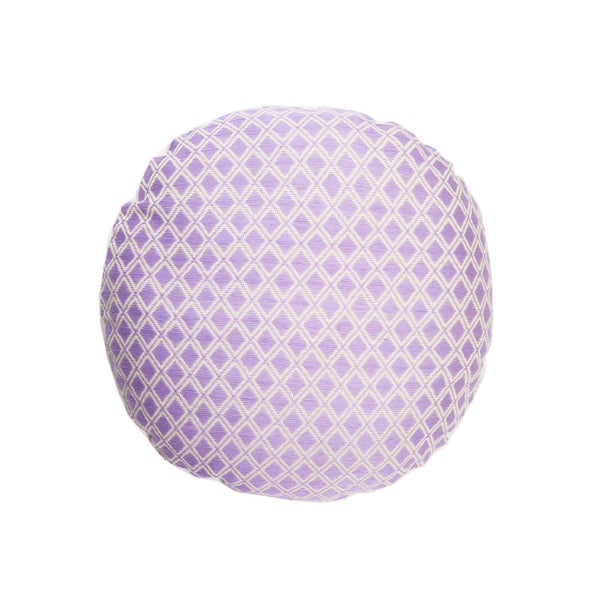 Comalapa Circle Pillow - Lilac