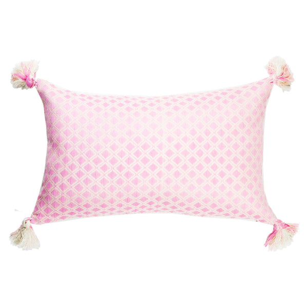 Comalapa Rectangle Pillow - Light Pink
