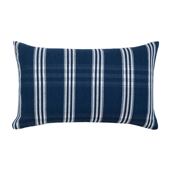 "Indigo Corte Pillow - 12""x20"""