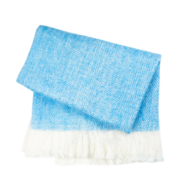 Fuzzy Blanket - Turquoise Blue