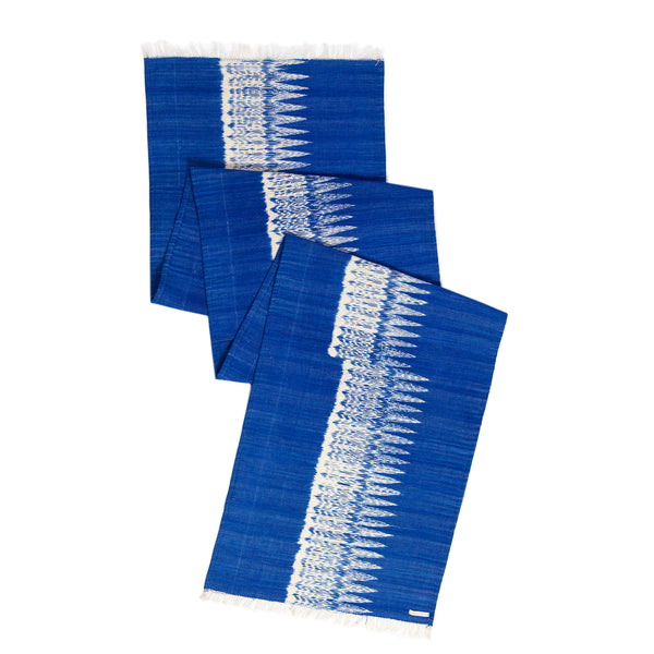 Gabriela Jaspé Blue Table Runner