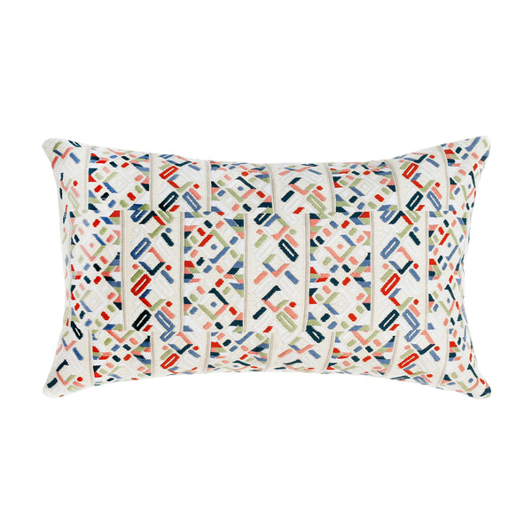 "Made to order: Nahuala III Pillow - 12""x20"""