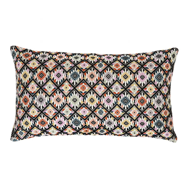 "Backordered: Nahuala II Pillow - Classic Yellow 12""x20"""
