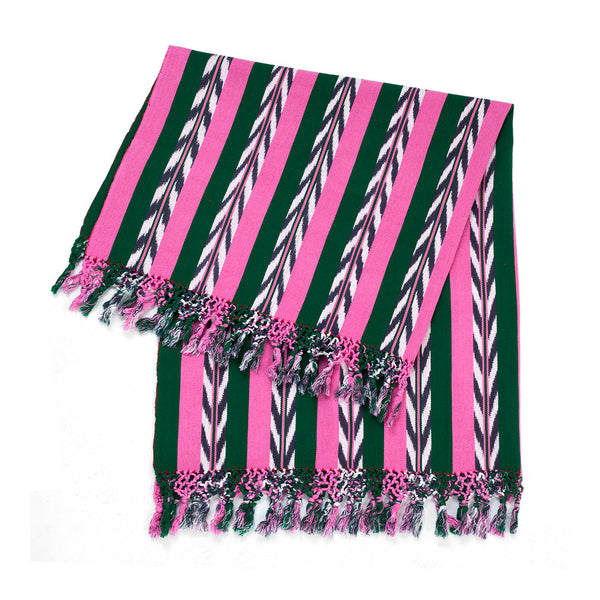 Palm Ikat Blanket