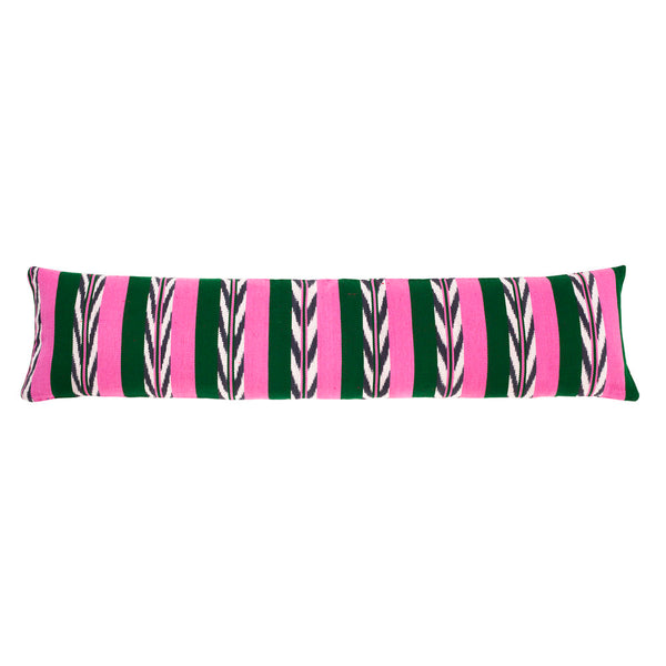 "Made to Order: Palm Ikat Pillow - 12"" x 46"""