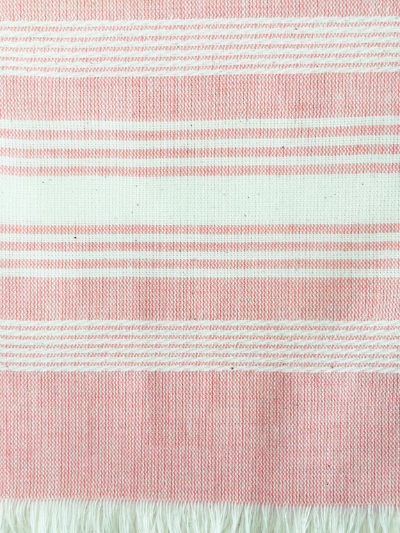 Pink Chambray Kitchen Towel