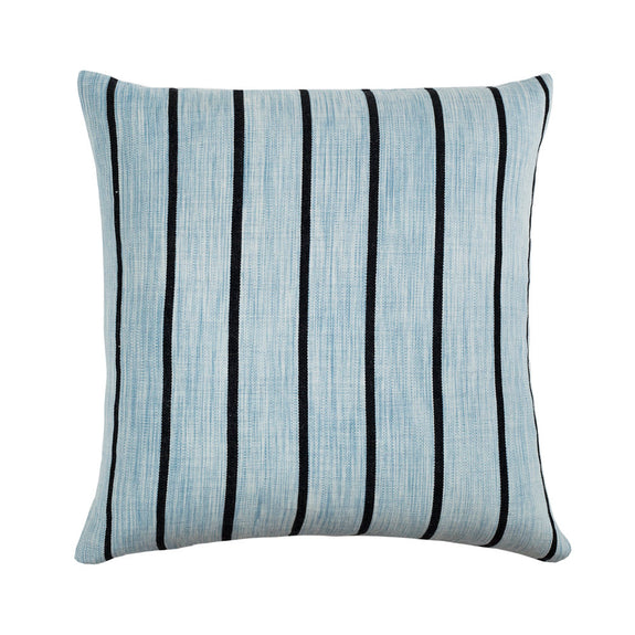 "Made to Order: Santiago Atitlan I Pillow - Washed Indigo 18""x18"""