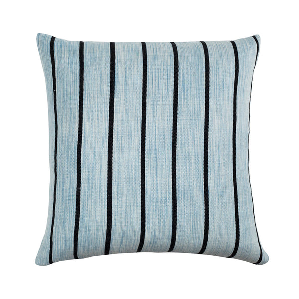 "Santiago Atitlan I Pillow - Washed Indigo 18""x18"""