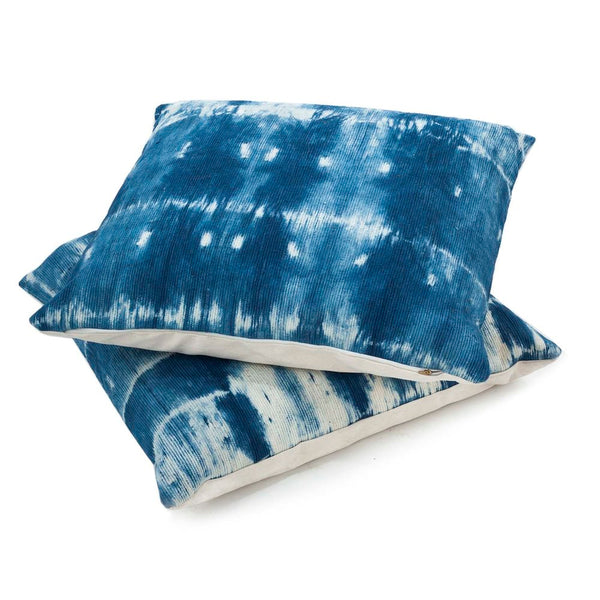 Made to order: Indigo Shibori Floor Pillow