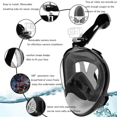 mask Black / S/M (Children) Sea Snorkel™