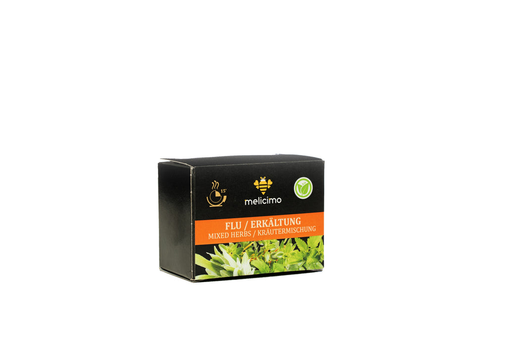 Bio Tea Flu (Mixed Herbs 8 Tea bags) - Melicimo