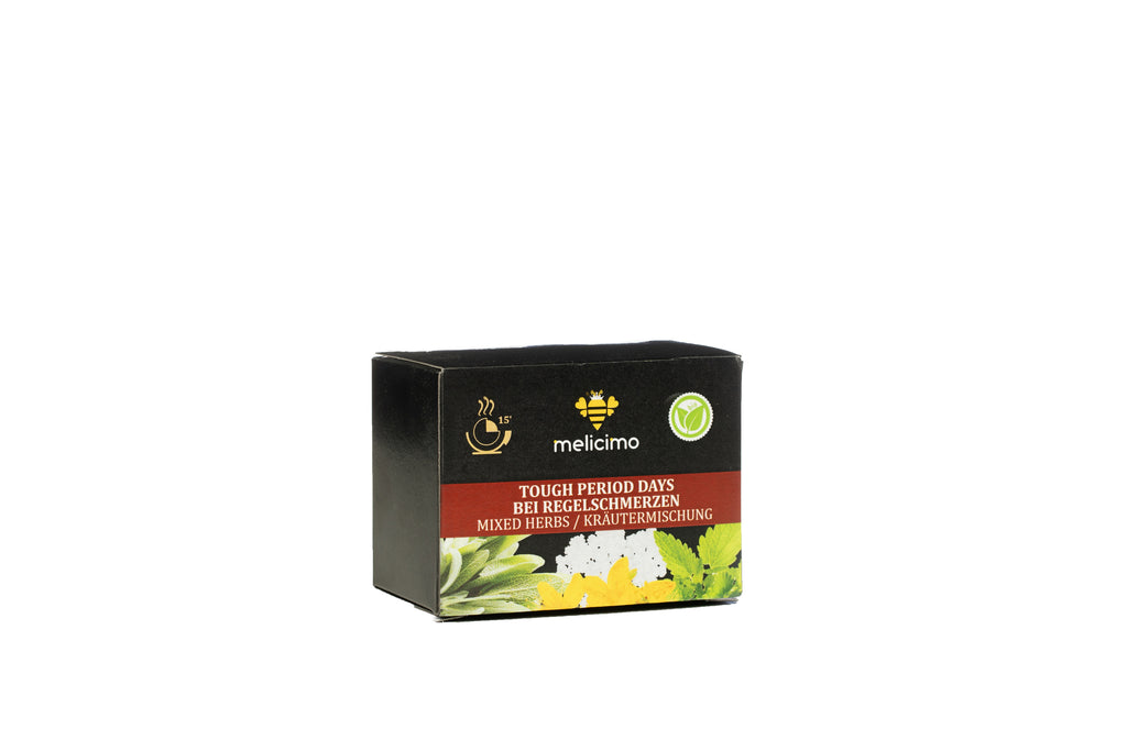 Bio Tea Tough Period Days (8 Tea bags) - Melicimo