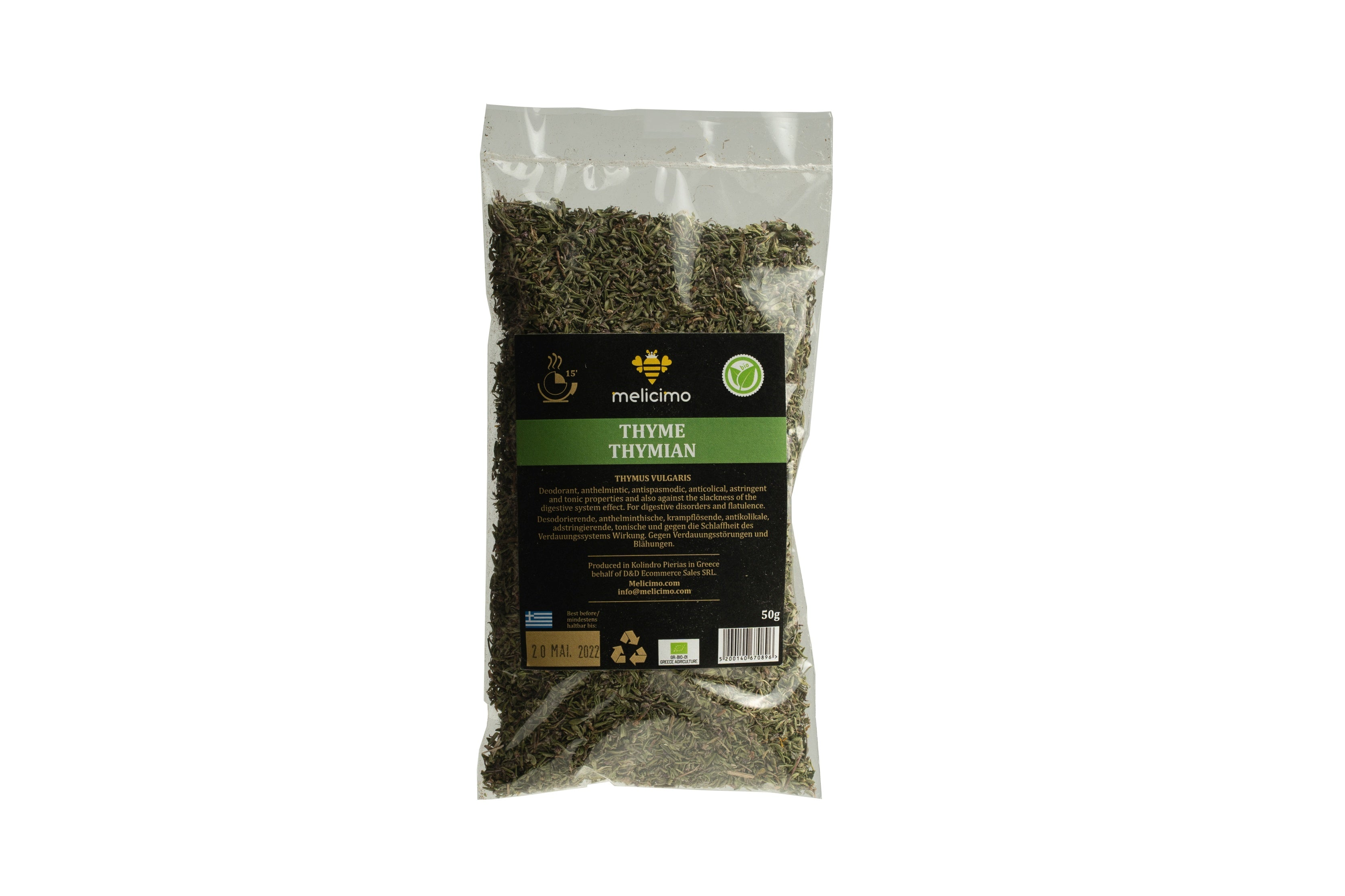 Thyme (50 gr) - Melicimo