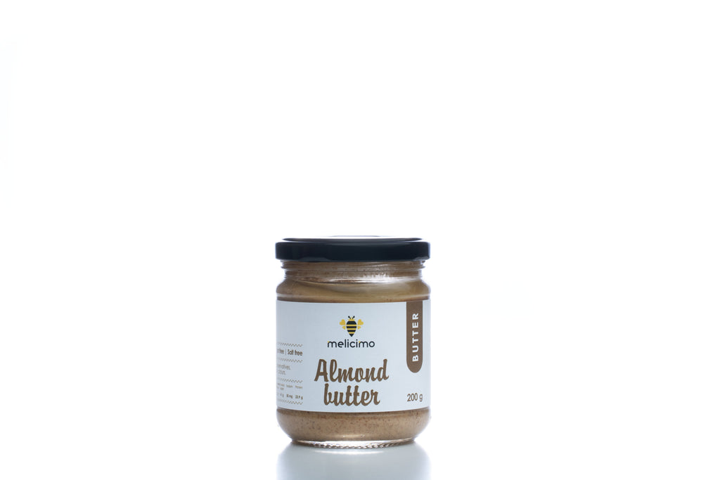 Almond Butter (200gr) - Melicimo