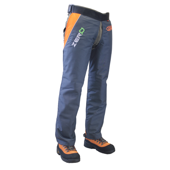 CLOGGER - ZERO CHAINSAW CHAPS CLIPPED