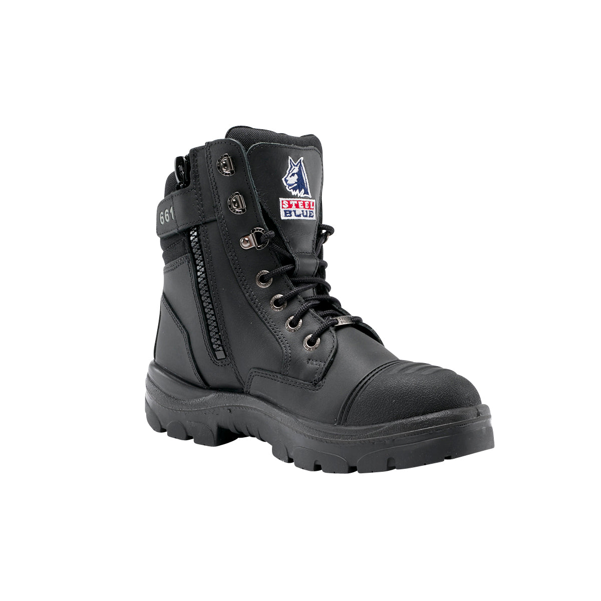 Steel Blue 312661 - Southern Cross Zip Sided Boot with Scuff Cap