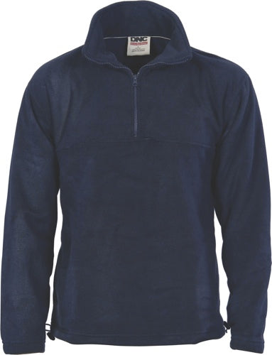 DNC - 5321 Half  Zip Polar Fleece Jumper Navy