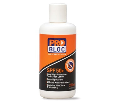 ProChoice - SPF50 ProBloc Sunscreen 250ml