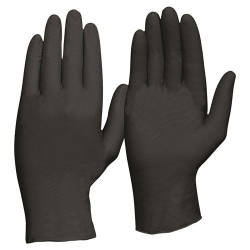 Pro Choice - Nitrile Disposable Gloves - Black Powder Free