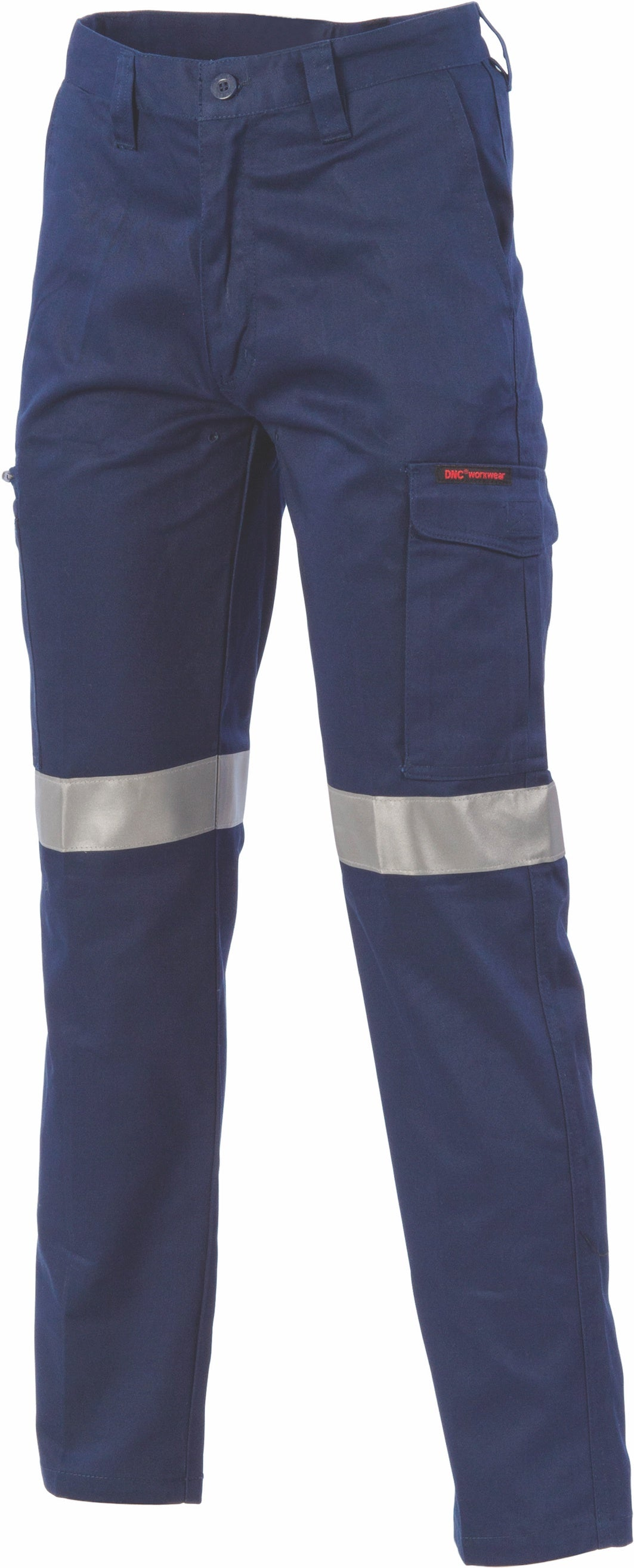 DNC - 3353 Digga Cool Breeze Cargo Navy Taped Pants