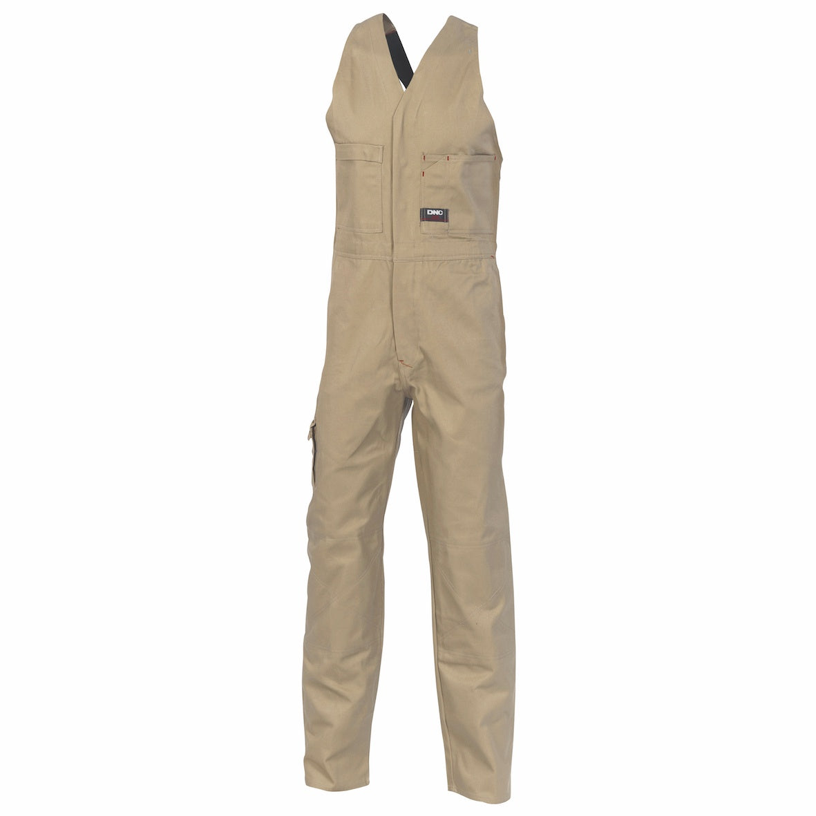 DNC - 3121 Action Back Cotton Drill Overall