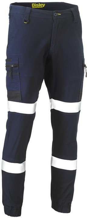 Bisley - BPC6334T Flex and Move Taped Stretch Cargo Cuffed Pants