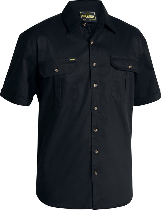 Bisley -  BS1433 Original Cotton Drill Shirt - Short Sleeve
