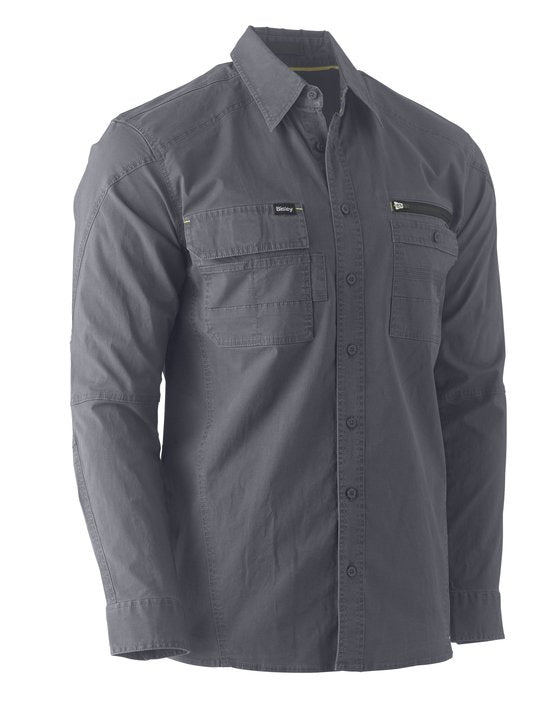 Bisley - BS6144  FLEX & MOVE™ UTILITY WORK SHIRT - LONG SLEEVE