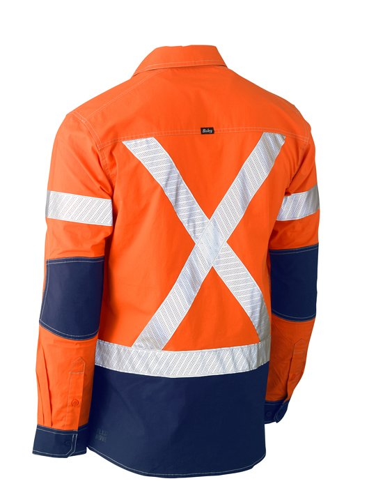 Bisley- BS6177XT Flex & Move Long Sleeve Taped Stretch Shirts